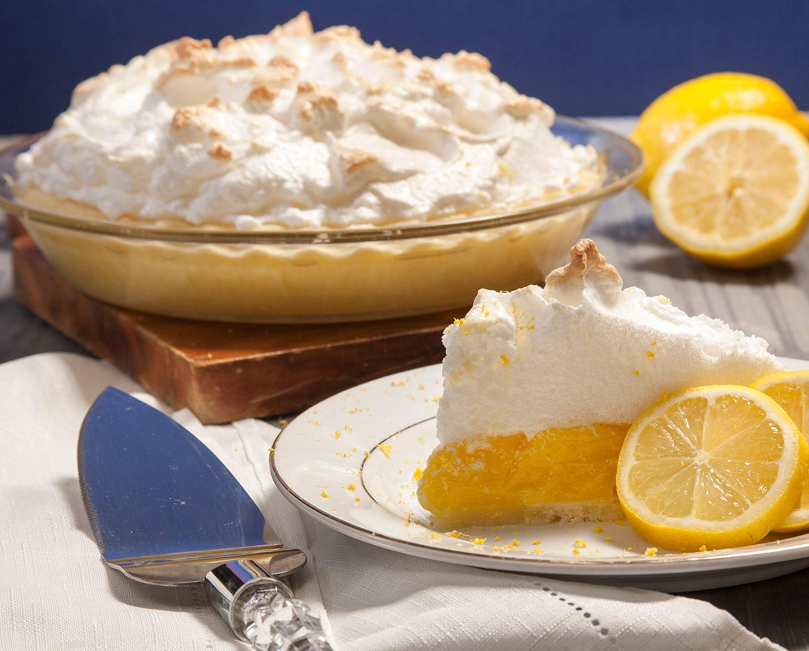 Gluten-Free Lemon Meringue Pie