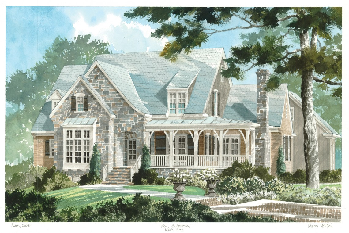 Showcase home southern living at its best ay mag ay for Southern living farmhouse