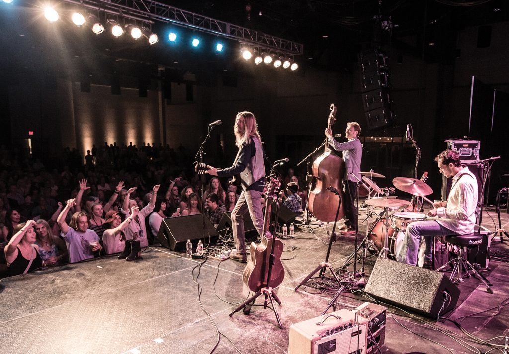The Wood Brothers played at 2014's Fayetteville Roots Festival, which is scheduled this year for Aug. 27 through 30.