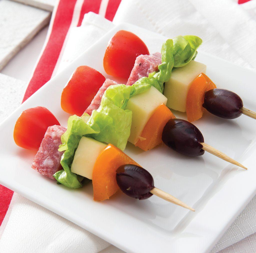 Antipasti Salad Kabobs
