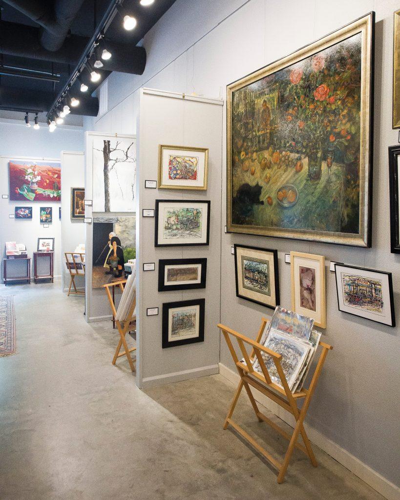 Artwork displayed  in Eureka Fine Art Gallery