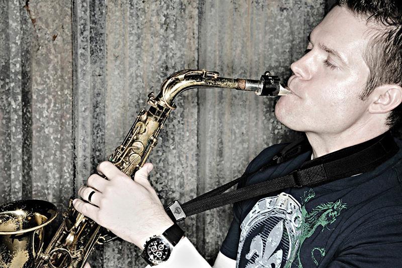 Saxophonist Grady Nichols