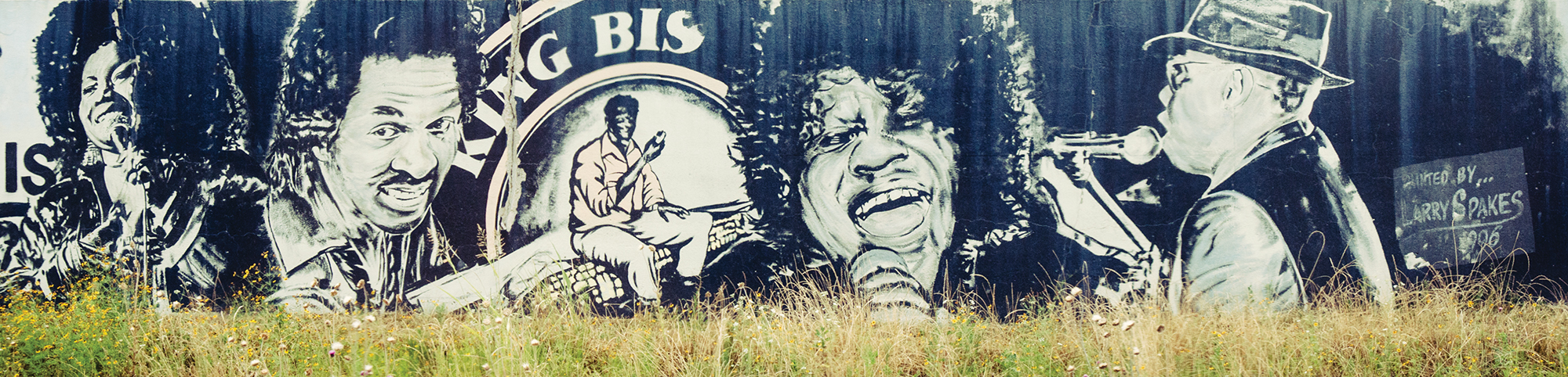 This mural celebrates one of the Arkansas Delta's signature events and is located near the Delta Cultural Center, this year's featured facility.