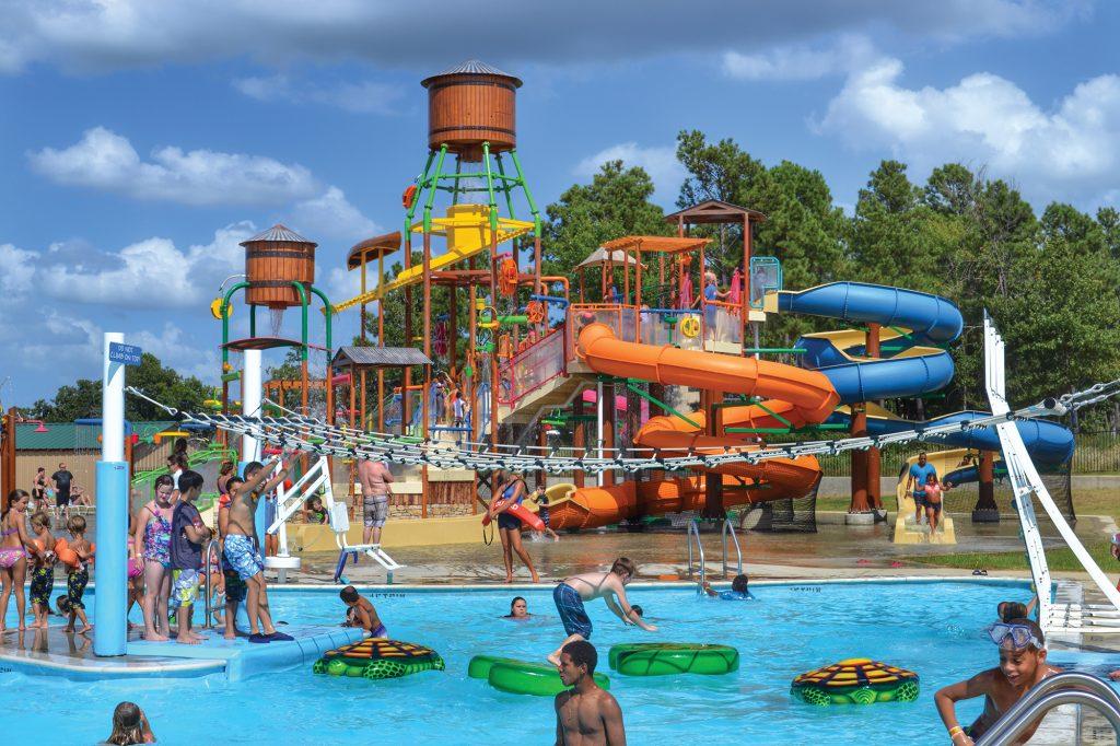 Holiday Springs Water Park in Texarkana