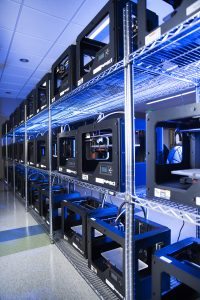 55 3-D MakerBot printers