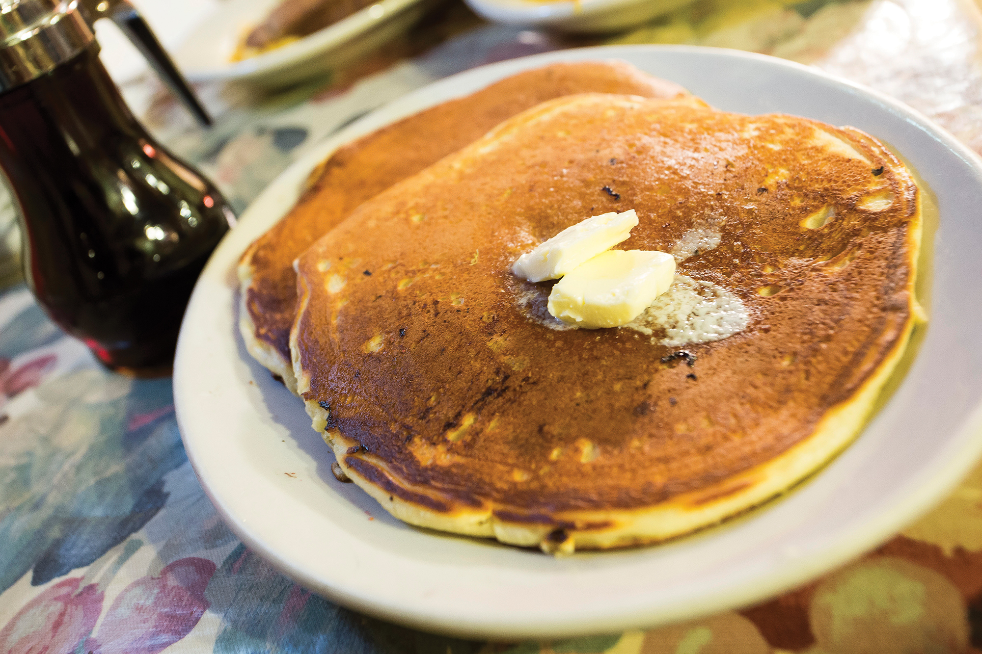 Mud Street Café's sour cream pancakes