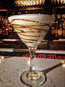 The divine Gadiva chocolate martini