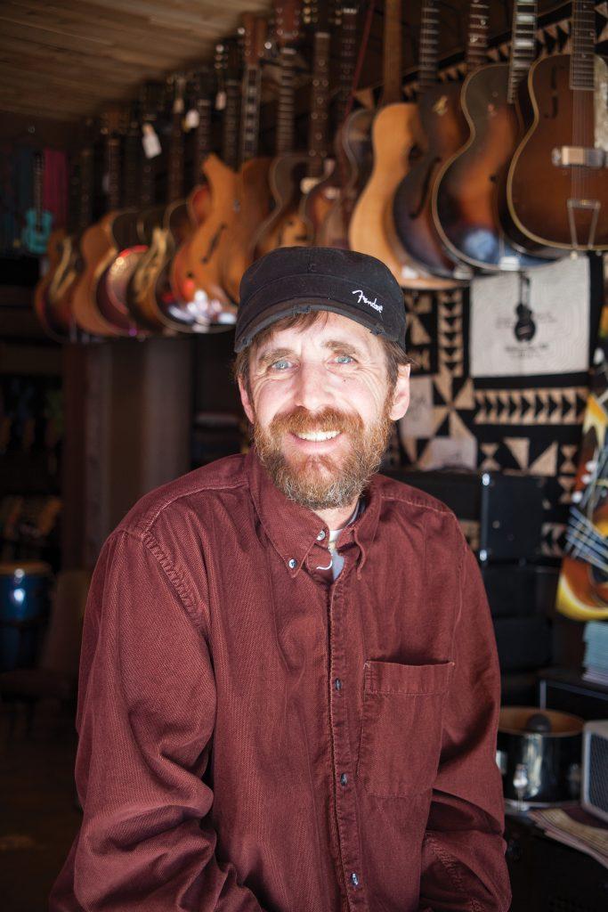 Leslie Key, owner, Meteor Guitar Gallery