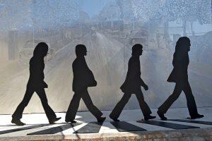 Abbey Road Sculpture in Walnut Ridge
