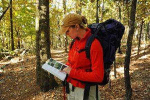 Hiking at Lake Ouachita State Park near Mountain Pine