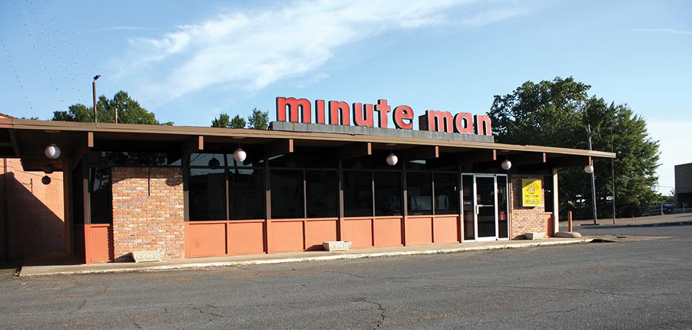 The sole surviving Minute Man in El Dorado. Photo courtesy of The Diamond Agency.
