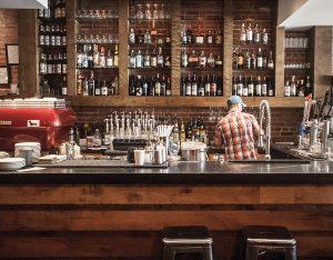 Bar at Pressroom in Bentonville. Photo by Sara Edwards Neal.