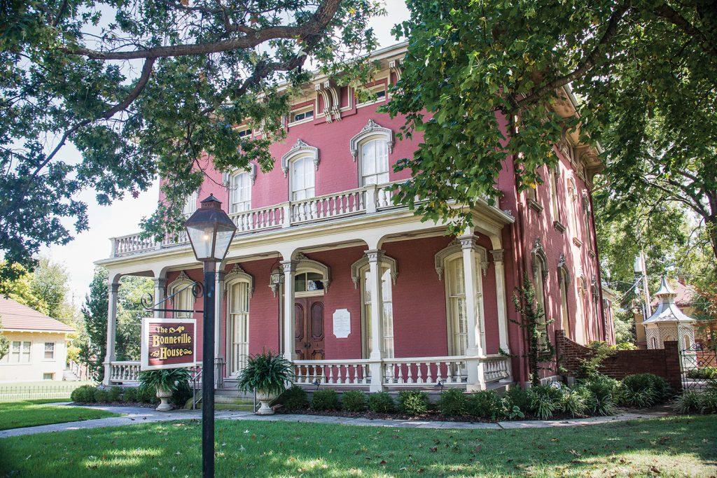 The McKibben-Bonneville House in the Belle Grove historic district.