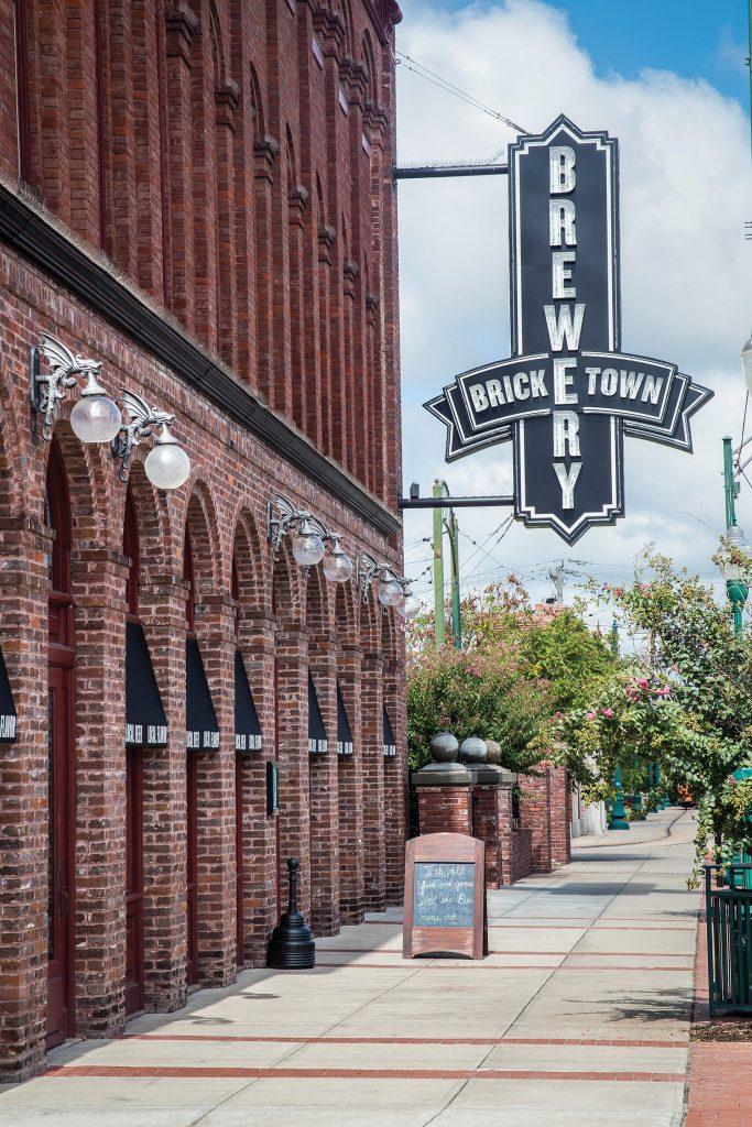 Oklahoma-based Bricktown Brewery, on Garrison Avenue.