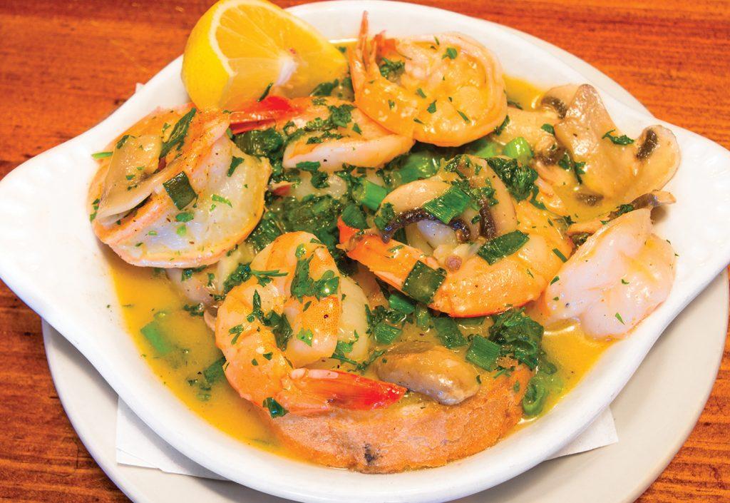 Shrimp Tchoupitoulas