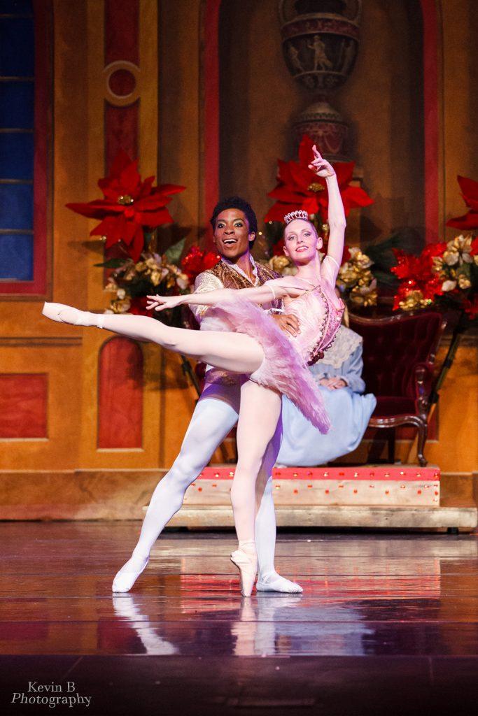 Amanda and Tony as Sugar Plum and Cavalier