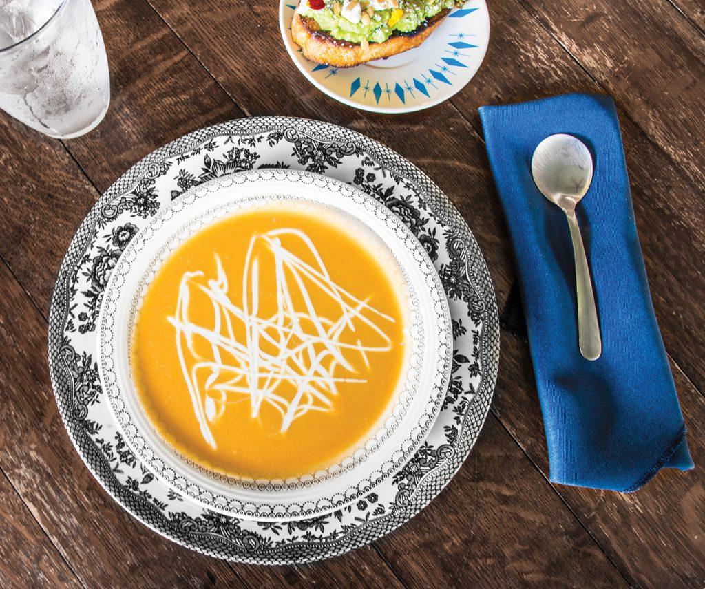 Heirloom's butternut squash soup