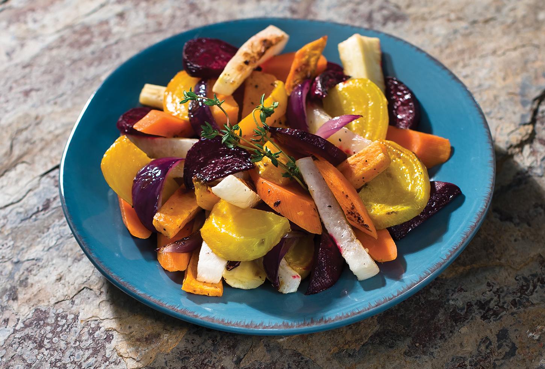 Dutch Oven Root Vegetables