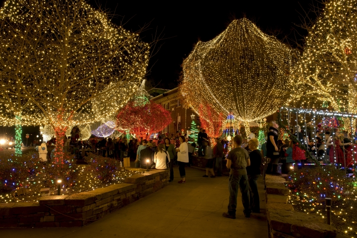 Lights of the Ozarks in Fayetteville