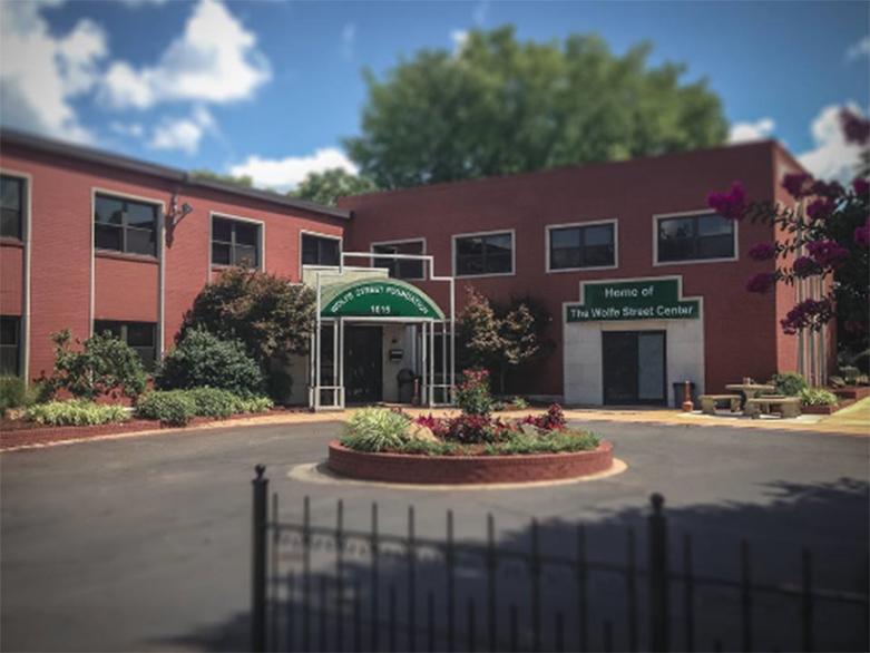 Wolfe Street Center in Little Rock / photo from wolfestreet.org