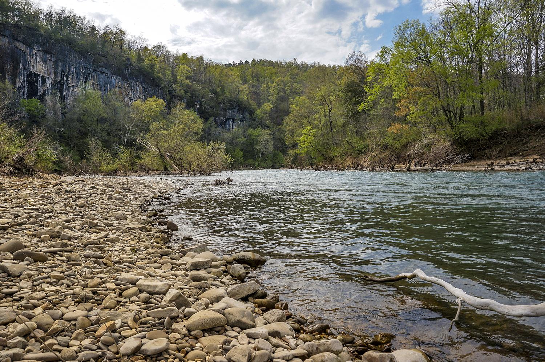 The Buffalo River in northern Arkansas