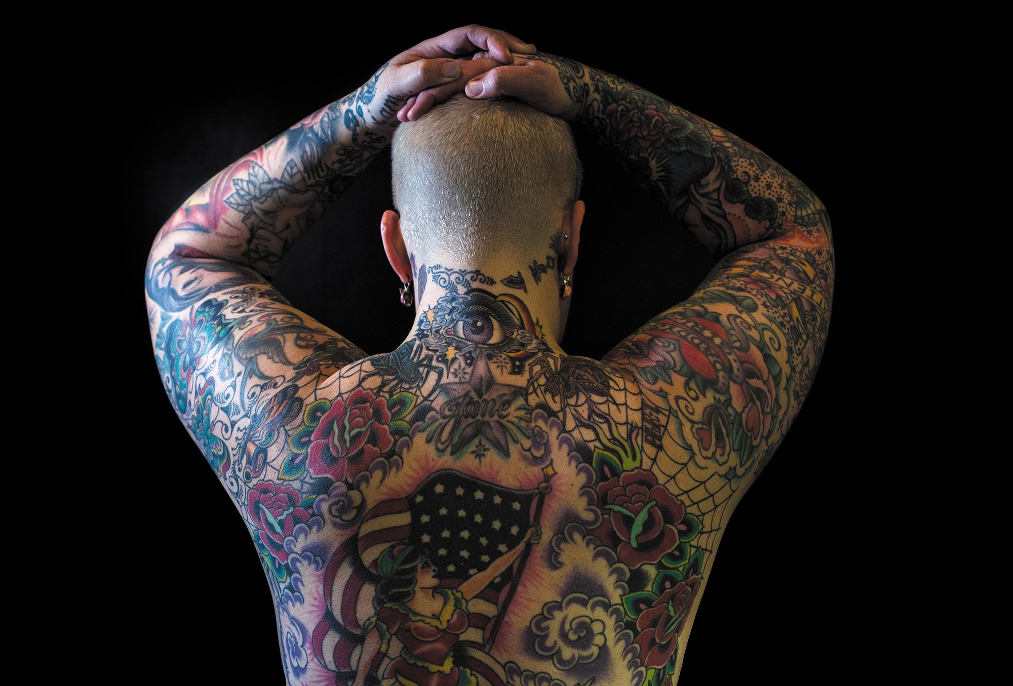 Tattoo art by Jud Ferguson