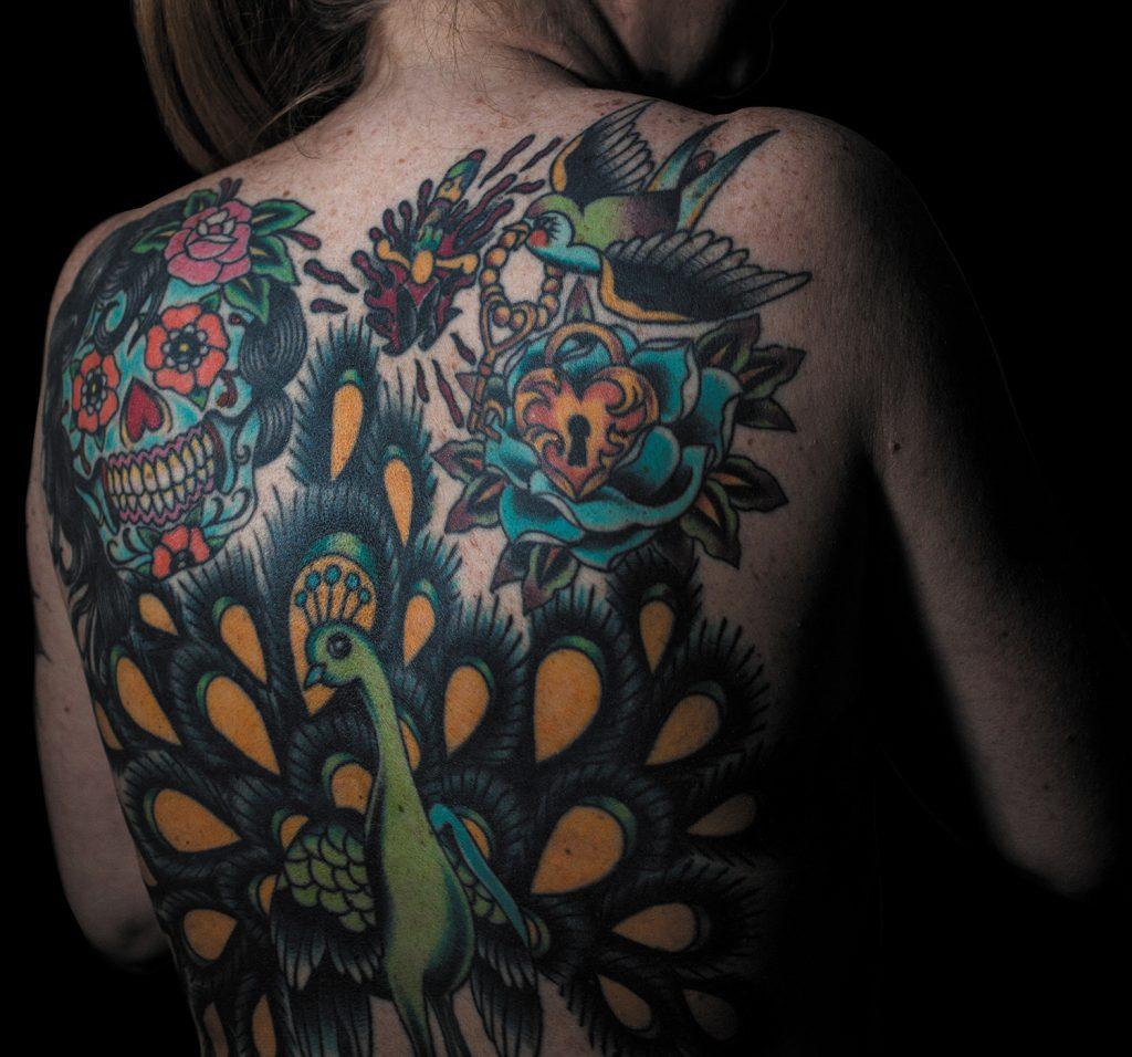 Tattoo art by Nancy Miller