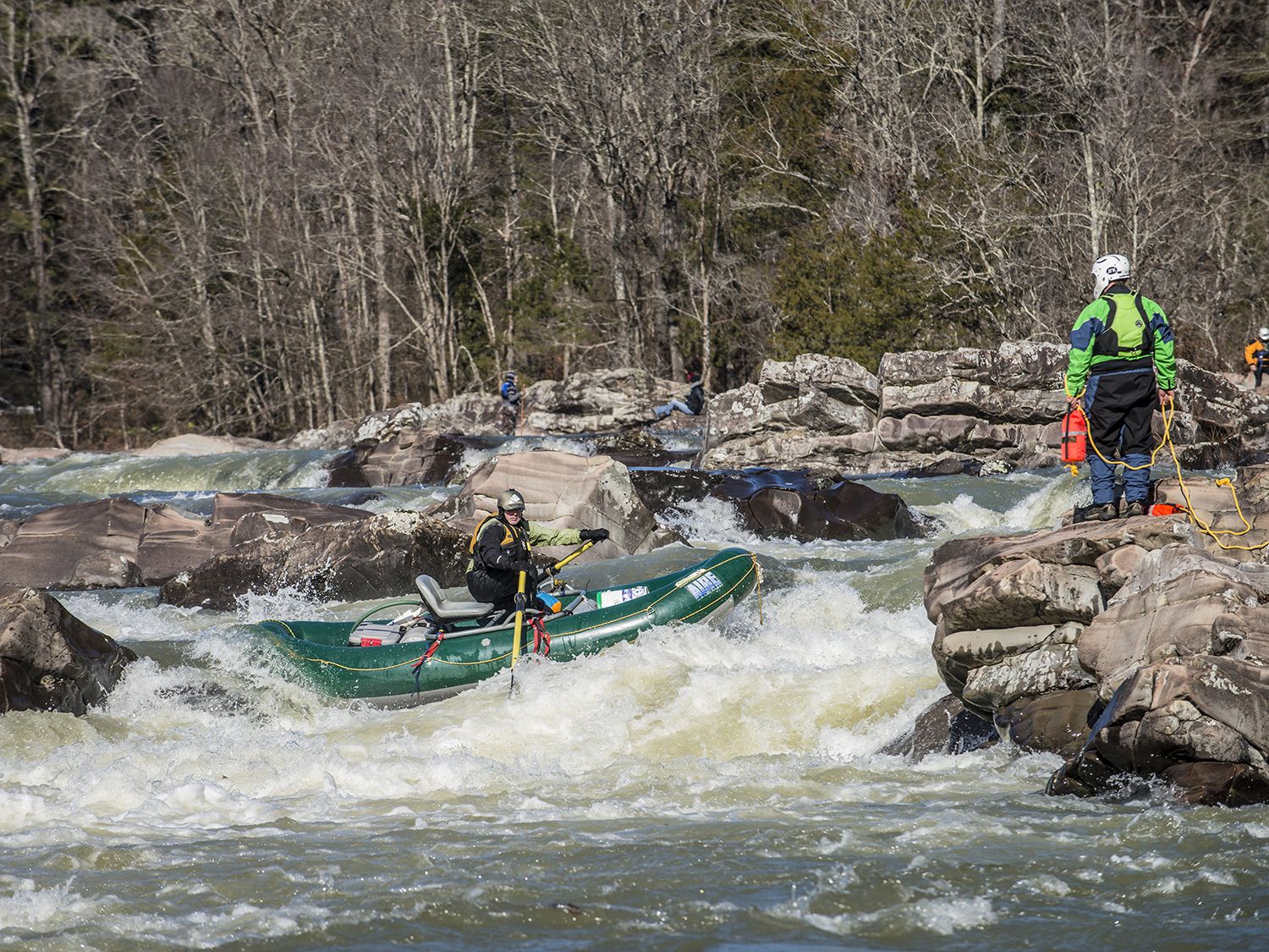 """""""Race the Falls"""" is on the Cossatot River in the Cossatot State Park"""
