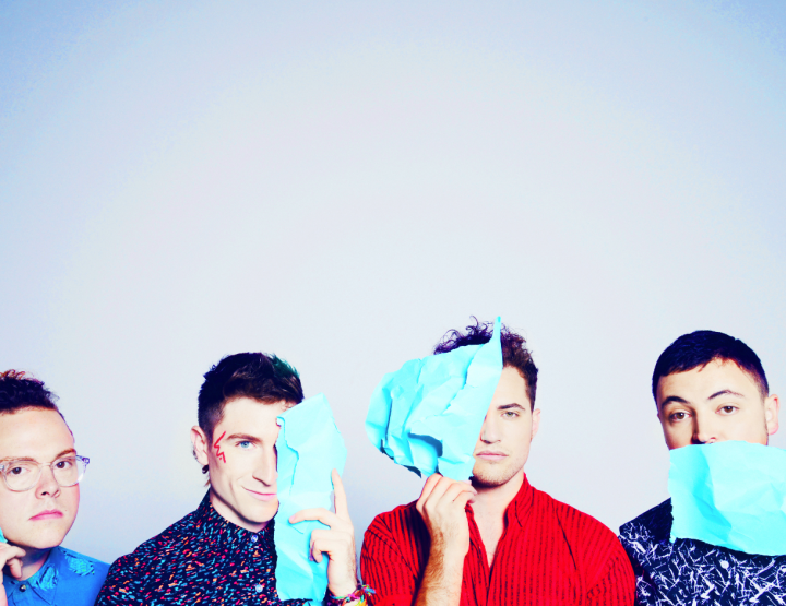 Shut Up! Walk the Moon is Performing at the Walmart AMP This Summer