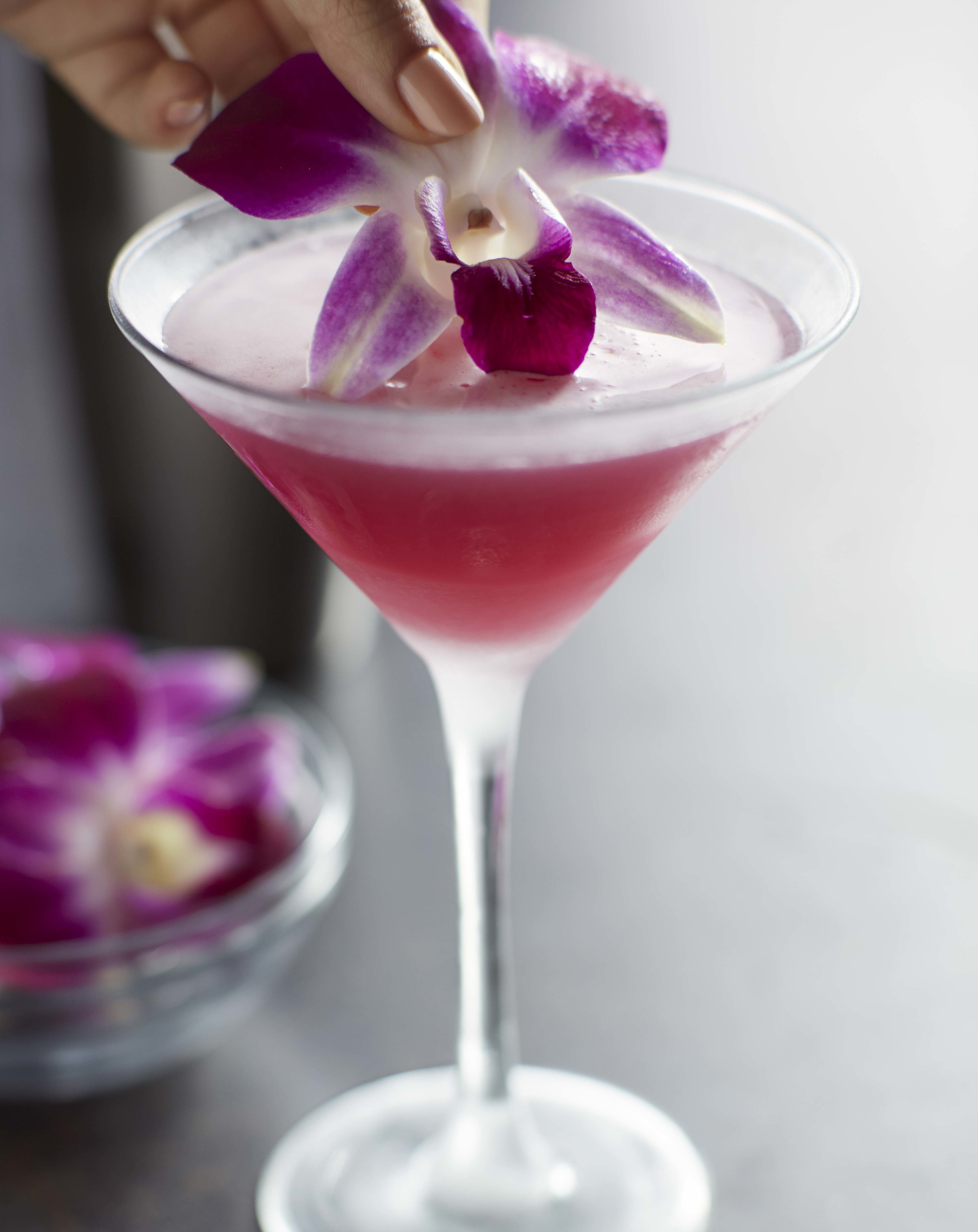 Get A Jumpstart On Spring With This Floral Martini Ay