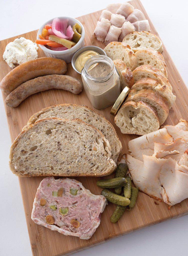 a charcuterie board from The Pantry Crest