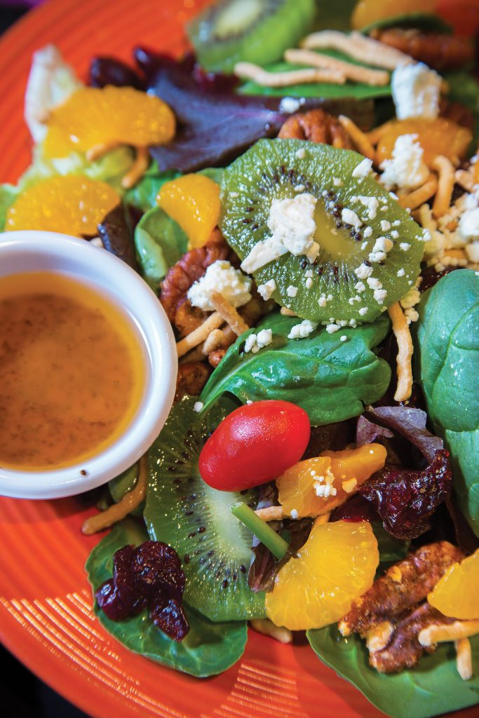 Trio's summer salad
