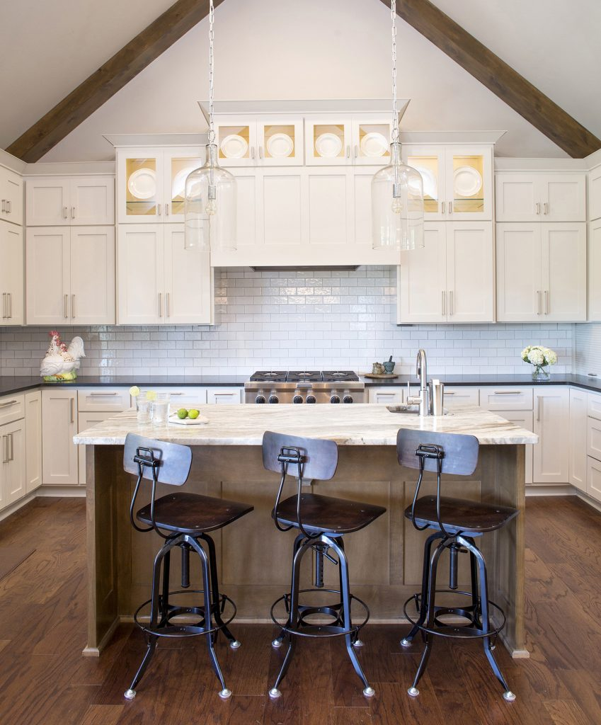 Interior photography of a home in Fayetteville, Arkansas.