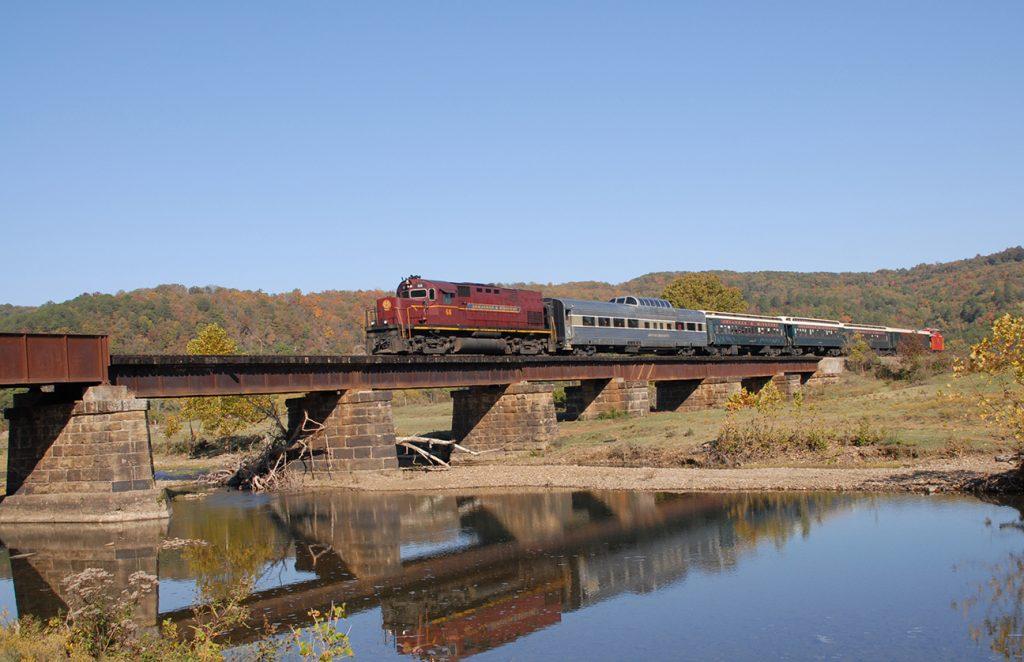 Photo courtesy of Arkansas Missouri Railroad