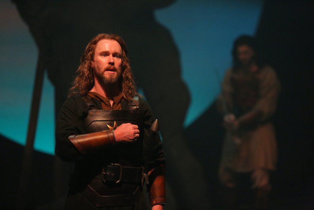 Michael Stewart Allen as Macbeth in The Rep's 2015-16 production of Macbeth