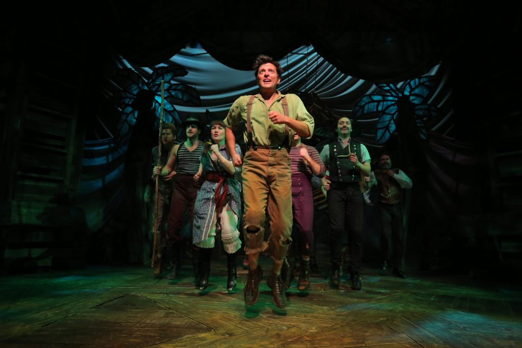 """The cast of The Rep's 2015-16 production of """"Peter and the Starcatcher."""""""