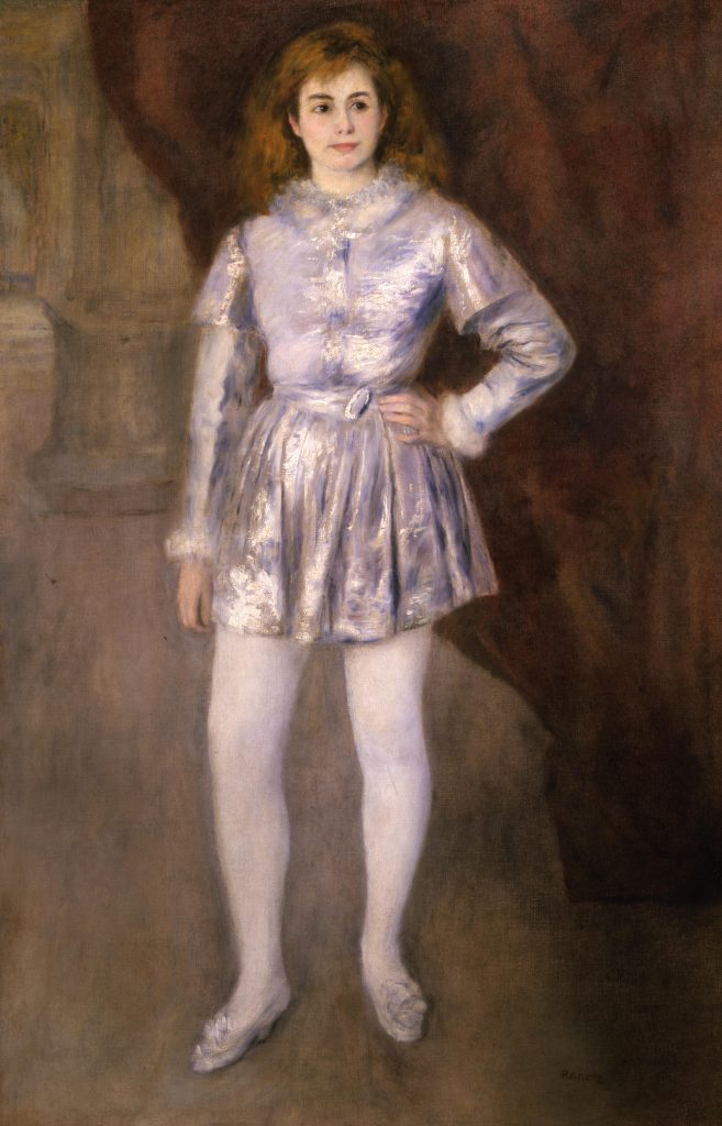 """Renoir's Madame Henriot in Costume,"" special loan to Arkansas Arts Center"