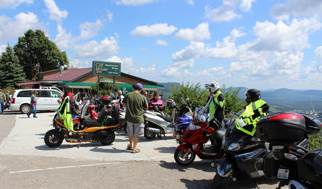 Scooting the Ozarks Rally in Eureka Springs, Arkansas