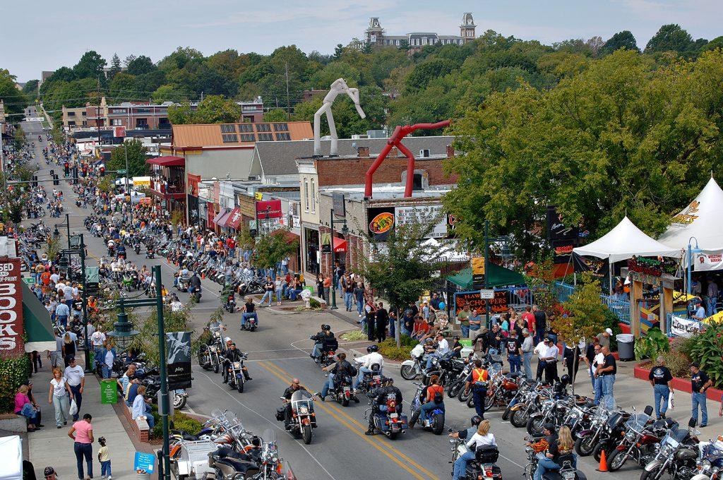 Bikes, Blues & BBQ in Fayetteville