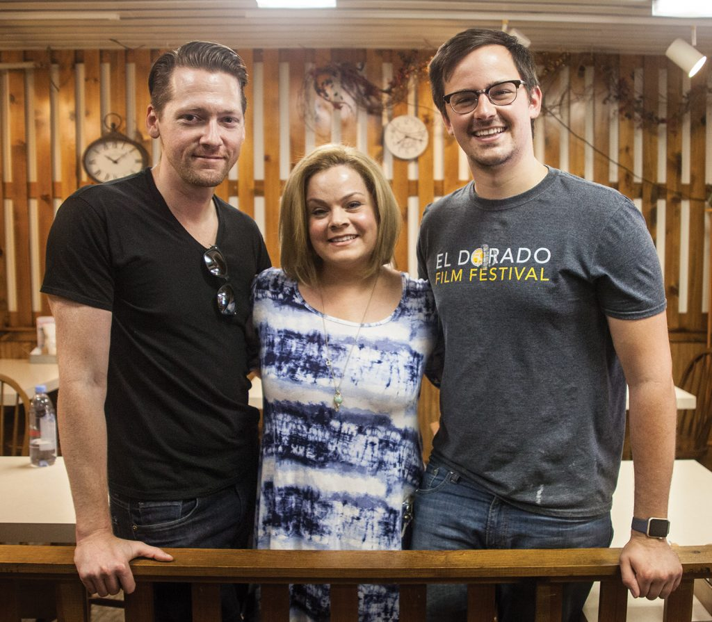 Organizers Austin and Laura Barrow, with Alex Jeffrey, talk about the upcoming El Dorado Film Festival.