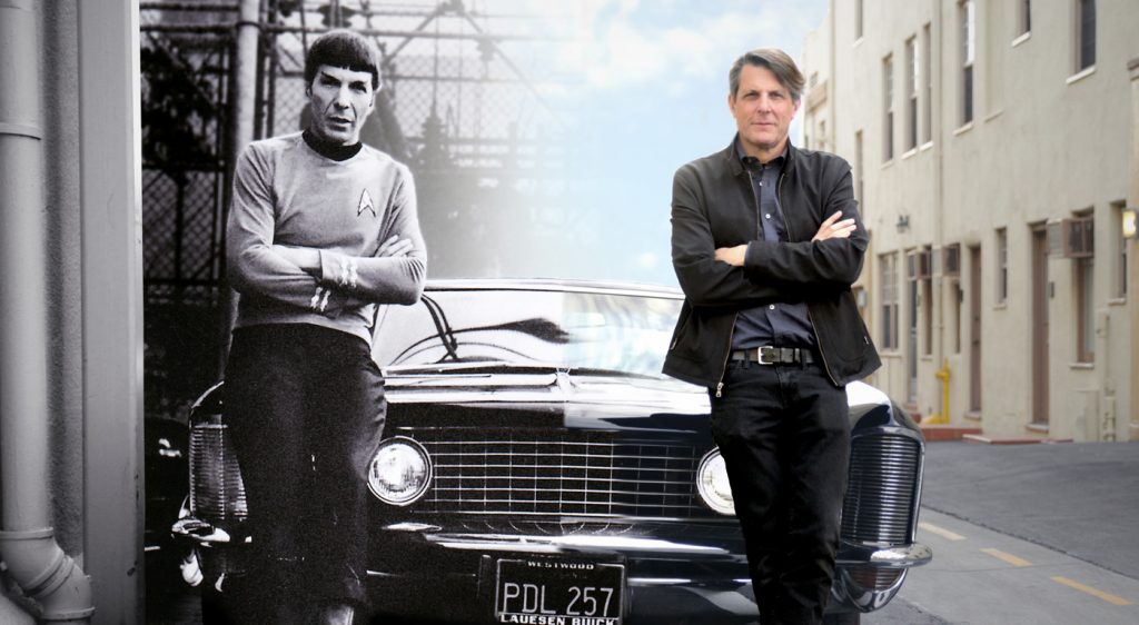 For The Love of Spock is produced by Leonard Nimoy's (aka Mr. Spock) son Adam, right, on his father's life and career.