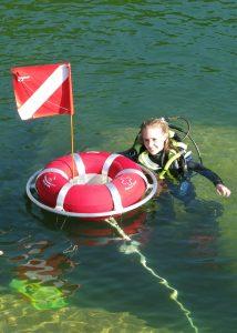 Norfork_Lake_diving_Lauren_Scuba