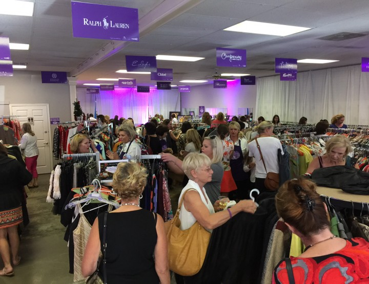 The most upscale retail re-sale event in Little Rock!
