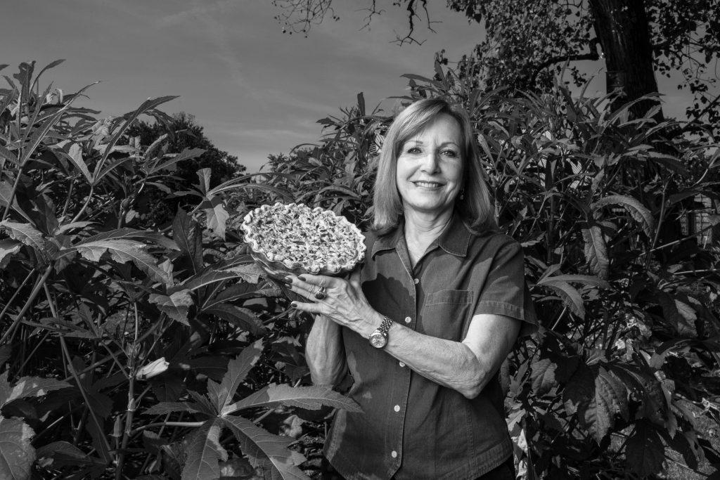 "Karol Zoeller's ""nut"" pie, entered in the Arkansas State Fair, 2016."