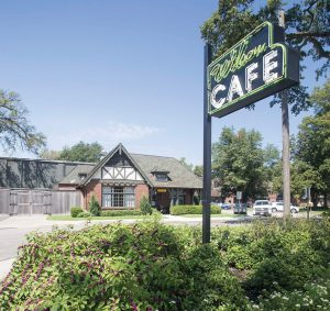 The Wilson Café had been closed for most of the past 10 years prior to the Cartwright's arrival.