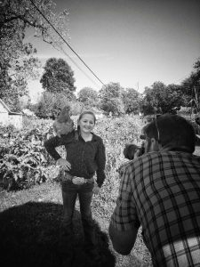Behind the scenes with Kallyn Sossamon and Brandon Markin