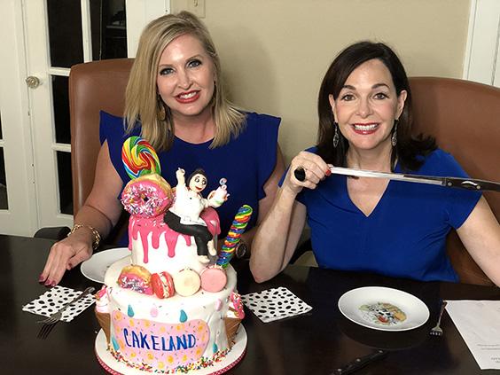 Wondrous An Explosion Of Fun Tasting The Sixth Birthday Cake Ay Magazine Funny Birthday Cards Online Elaedamsfinfo