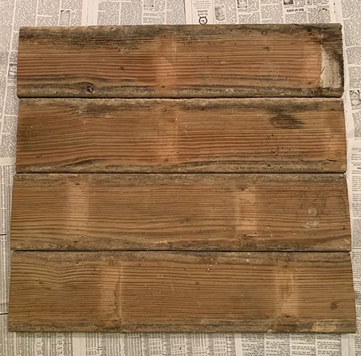 wooden board for DIY