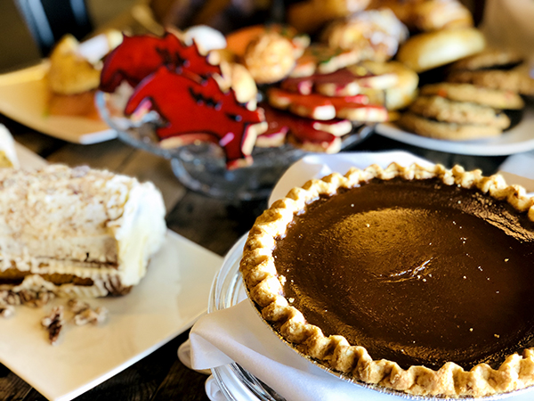 pie and desserts