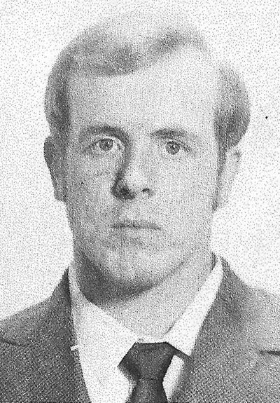 Black and White photo of Mark Alan Smith